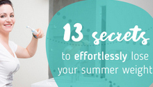 Secrets to Lose Summer Weight