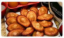 madeleines à la fleur de sel