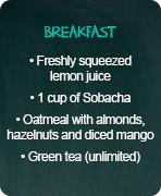 typical menus maintenance breakfast