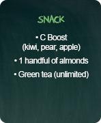 typical menus detox snack